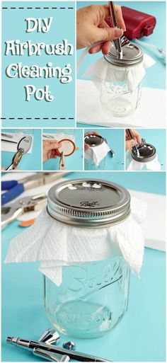You Have to See This! A DIY Airbrush Cleaning Pot | The Bearfoot Baker    Airbrush | Cleaning Pot | Decorated Cookies | Airbrush Cookies | Sugar Cookies | Royal Icing | How to