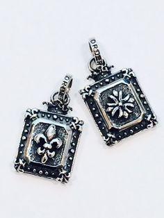 Demi God Square w/ FDL  Demi God Square w/ Iron Cross 各\59,400-(税込)     Demi Godシリーズからスクエアタイプのペンダントです。