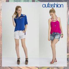 Modelos perfeitos para curtir as férias de verão, você encontra na OU! #oufashion #verão2016 #teen #férias