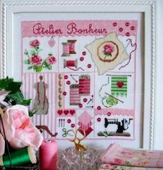 14CT Self Collected Embroidery Cross Stitch Kits Quilting Style