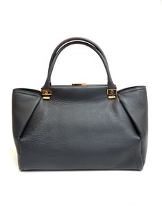 """Buy online tote """"Trilogy"""" in calfskin AW0BSAKALC7A : 1480euro 