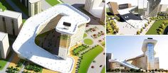 Slalom House | Residential Building With Outdoor Ski Slope | Astana, Kazakhstan