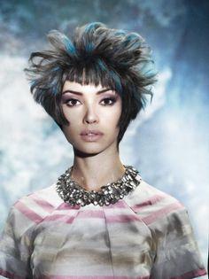 www.estetica.it | Hair: Vivienne Mackinder Stylist: Jason Rembert Make up: David Maderich Photo: Roberto Ligresti
