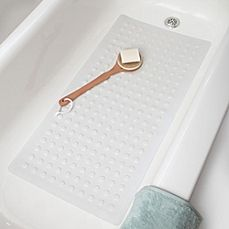 image of Microban® Large Rubber Safety Tub Mat