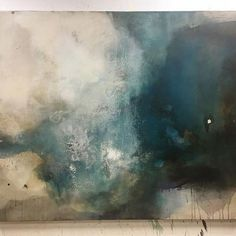 New 100x120cm canvas....rich,deep palette #studio #art #abstract #painting #colour #texture #surface #wip #light #creativehappylife