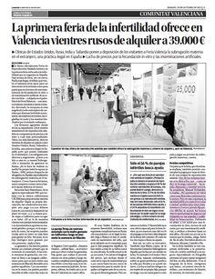 Clínicas EVA en el periódico Levante 19/10/13