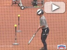Watch as Coach Shonda Stanton explains and slappers demonstrate this Two Tee Drill. Softball Workouts, Softball Drills, Softball Coach, Softball Gifts, Cheerleading Gifts, Cheer Gifts, Fastpitch Softball, Softball Stuff, Baseball Stuff