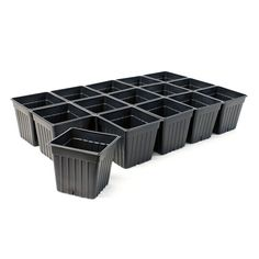 Sheet Pots, Full Case - Thermoformed Plastic Seed Pots