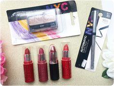 how to do eyeliner Nyc Lipstick, Lipsticks, How To Do Eyeliner, Eyeliner Pencil, Eyeliner Tutorial, Berry, Eyeshadow, Bronze, Red