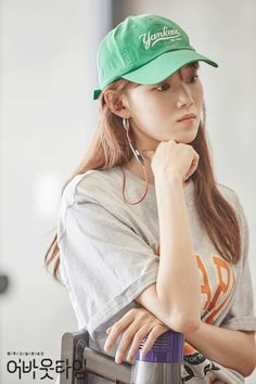 Today we have two shows premiering, About Time and Miss Hammurabi. About time is a fantasy love… Lee Sung Kyung Fashion, Nam Joo Hyuk Lee Sung Kyung, Lee Sung Kyung Style, Lee Sung Kyung Wallpaper, Nam Joo Hyuk Wallpaper, Korean Actresses, Korean Actors, Actors & Actresses, Korean Dramas