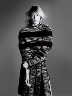 Sigrid Agren by David Sims for Sportmax