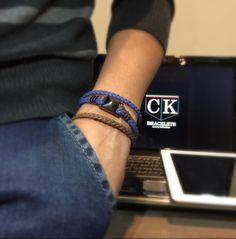Pulseiras masculina em couro legítimo para homens modernos com estilo de um novo mundo moderno. . Instagran: #ckbracelets . E-mail: ckbraceletes@gmail.com . WhatsApp +55 51 9774-2293  . País: Brazil