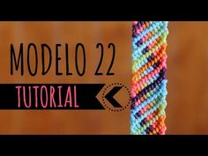 Aprende a hacer esta bella pulsera ♥︎ / Learn how to make this bracelet (DIY) Friendship Bracelets Tutorial, Friendship Bracelet Patterns, Bracelet Tutorial, Bracelet Fil, Bracelet Crafts, Macrame Jewelry, Macrame Bracelets, Macrame Knots, Paracord Braids