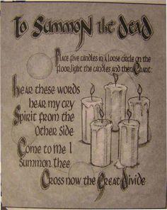I summon thee