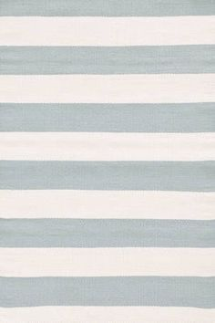 Dash & Albert Catamaran Stripe Light Blue/Ivory Indoor/Outdoor Rug | Dash & Albert Rug Collection