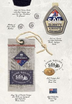 Mens Apparel Graphics -Art Direction & Design, Nautical by Richard Schonegevel, via Behance