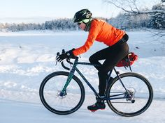 Once riding around London, Petra recently moved to Sweden. That's where her bike joined her just before the roughest part of the Swedish winter. To make a bike that would allow for the studde… Petra, Aurora, Cycling, Bicycle, Biking, Bicycle Kick, Bicycling, Bike, Bmx