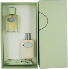 Prada Infusion d'Iris Gift Set Eau de Parfum Spray 1.7 oz & Body Lotion 3.4 oz & 2 Refreshing Tissue 2 pcs by Prada. $59.05. Prada Infusion d'Iris Gift Set Includes: Eau De Parfum Spray 1.7 oz Body Lotion 3.4 oz 2 Refreshing Tissue Prada Infusion d'Iris Gift Set Description: Tradition and innovation fuse into a dreamlike ideal in Prada's Infusion D'Iris the new fragrance for the modern woman. Prada's exceptional quality ingredients evoke the classic ambiance of...