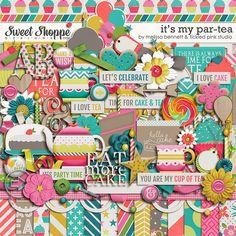 It's My Par-tea by Melissa Bennett & Tickled Pink Studio