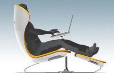 Futuristic Chairs - Futuristic design for ergonomic office chairs #ergonomicofficechairs