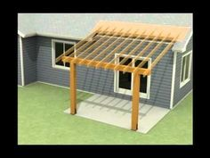 attaching patio roof to existing roof | Design of a roof addition over an existing concrete patio in Bozeman ...