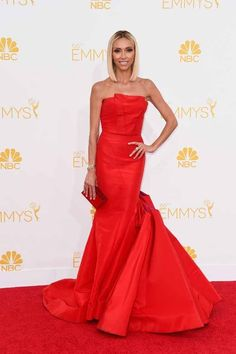 Giuliana Rancic | All The Red Carpet Looks From The 2014 Emmy Awards