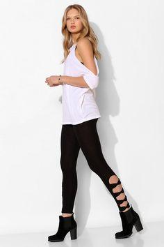 Betsey does leggings? Yes please! Betsey Johnson Self Bow Legging