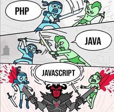 PHP vs Java vs JavaScript. PHP is a server-side Scripting Language. Java is a general-purpose language. JavaScript is a client-side scripting language.