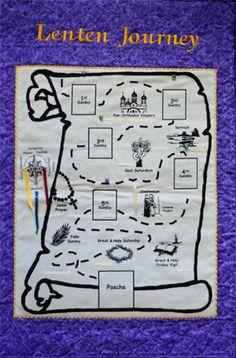 Lenten journey poster idea
