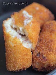 Croquetas de jamón : croquettes de jambon à l'espagnole 2 ©cocineraloca.fr