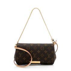Louis Vuitton Monogram Canvas Favorite PM Shoulder Bag | Louis Vuitton Handbags | Bag Borrow or Steal