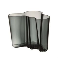 Alvar Aalto vase mørkegrå - 160 mm - Iittala