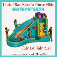 http://bayareamommy.net/2014/06/little-tikes-slam-n-curve-slide-sweepstakes-2/