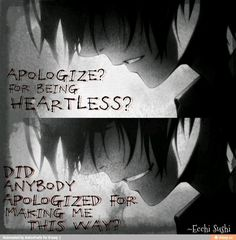 Wanna know about your favorite anime quotes? :D PM me what anime you lile, So I can get those love quotes! Angst Quotes, Sad Anime Quotes, Creepypasta Quotes, All Meme, Art Anime, Dark Quotes, Depression Quotes, Anti Social, Inspirational Quotes
