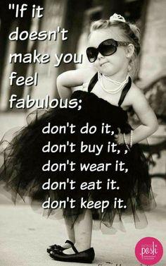 Be yourself Posh