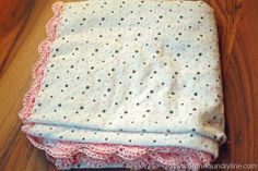 Free Crochet Patterns For Receiving Blankets : 1000+ images about Blanket Edging on Pinterest Receiving ...