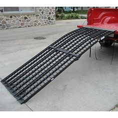 $270 - Arched Folding Motorcycle Ramp