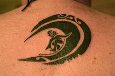 surfing tattoo