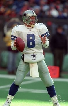 Troy Aikman #8 #NFL #Cowboys