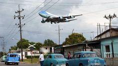 El cubano Yander Zamora Reyes tomó la imagen que ya está considerada como una de las mejores que se hicieron durante los tres días que Obama y su familia pasaron en La Habana. REUTERS