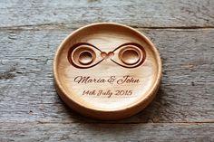 Ehering Halter Träger Kissen Hochzeit Ring Platte Schale Ring Inhaberaktien Kissen alternative Hochzeit Ring Box Hochzeit Jahrestag Geschenk Infinity