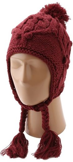 $44, Chloe Earflap Beanie by Burton. Sold by Zappos. Click for more info: http://lookastic.com/women/shop_items/10785/redirect