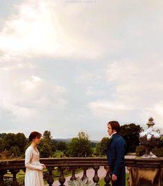 Keira Knightley (Elizabeth Bennet) & Matthew Macfadyen (Mr. Fitzwilliam Darcy) - Pride & Prejudice (2005) #janeausten #joewright