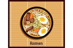 Japanese Ramen Concept by robuart on @creativemarket