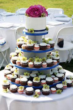 Cake Life - mix of mini & regular sized - like this presentation