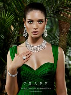 Graff Necklace 108.9 ct  Earring 40.9 ct. Lady Loves Luxury, Via ♕LadyLuxury♕
