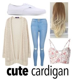 """Cardigan"" by kaylenj ❤ liked on Polyvore featuring Violeta by Mango, New Look, Etro, Vans, cutecardigan and springlayers"