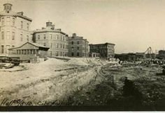 This day in St. Louis: March 27, 1908 - The city announces plans to add an 11-story addition of patients' rooms to the City Hospital, which was nearly destroyed in a tornado. The addition will provide better light and ventilation in the highly polluted city. #stl250