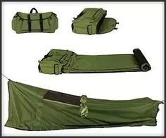 Convenient Camping Gear the backpacking bed!