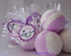 Sugar Plum Fairy Christmas Bubble Bath Bomb by WinterVallie, $4.00